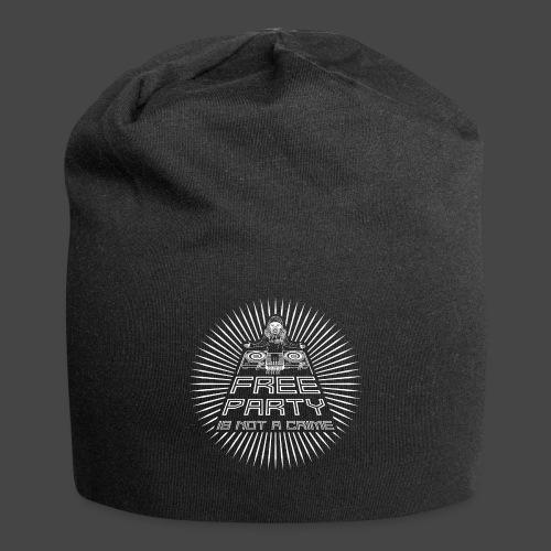 free party n'est pas un crime tekno 23 - Bonnet en jersey