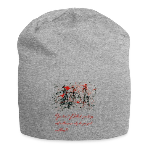Don't feel worthless - Beanie in jersey