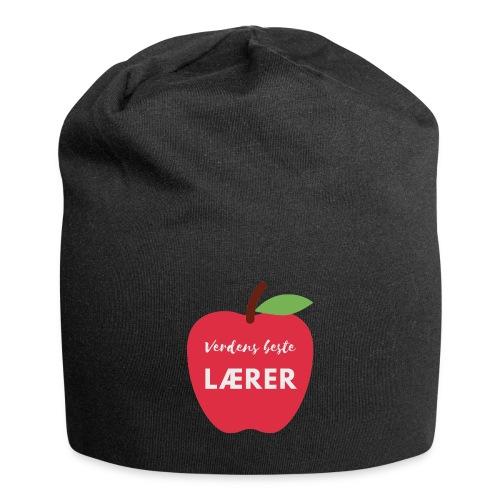 Verdens beste lærer - Jersey-beanie