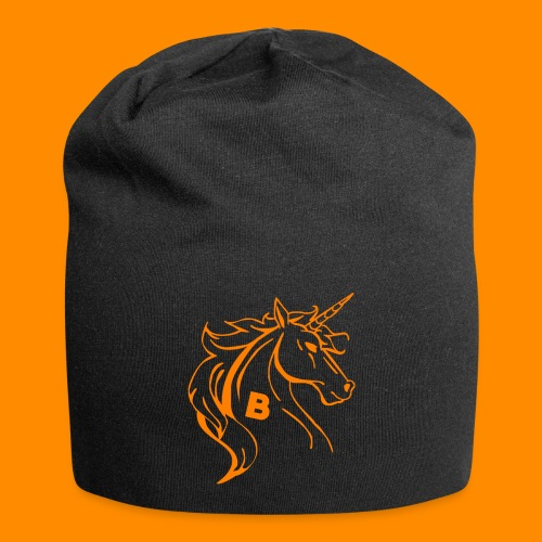 orange biodusty unicorn shirt - Jersey-Beanie