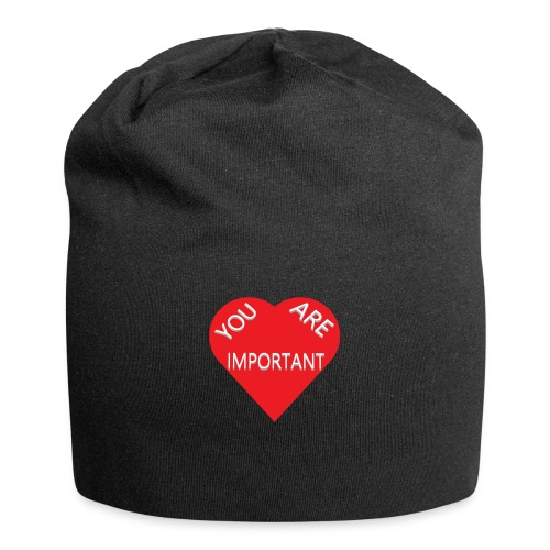 you are important - Jersey-Beanie