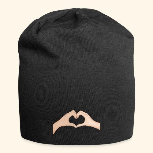 Mains Coeur Amour - Love hands - Bonnet en jersey