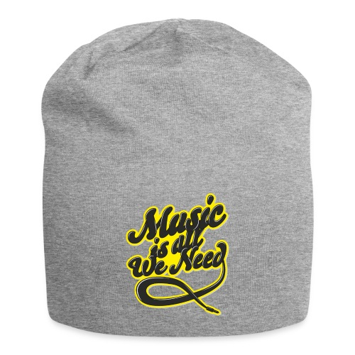 Music Is All We Need - Jersey Beanie