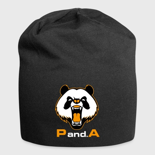 P.and.A ORANGE - Gorro holgado de tela de jersey