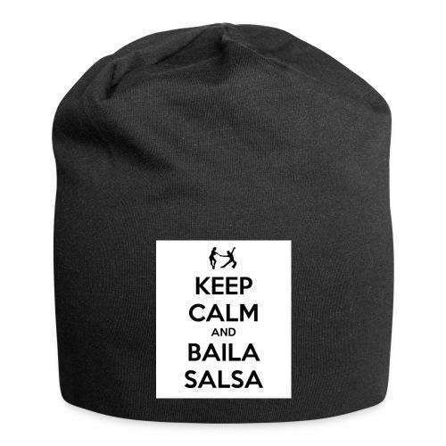 keep-calm-and-baila-salsa-41 - Beanie in jersey