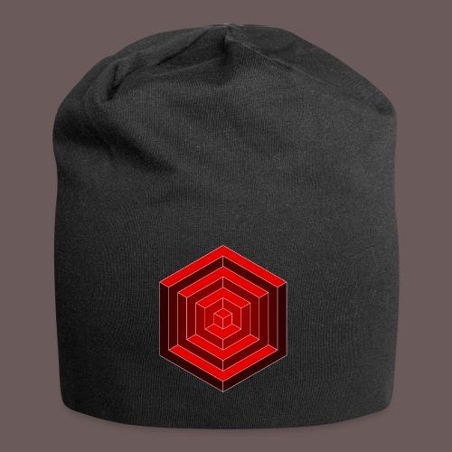 Hexagon Cube - Jersey-Beanie
