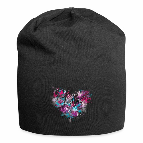 Love with Heart - Jersey Beanie
