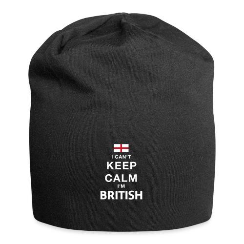 I CAN T KEEP CALM british - Jersey-Beanie