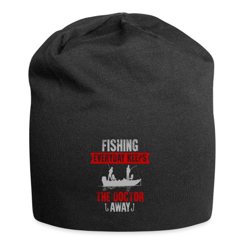 Fishing every day keeps the doctor away - Jersey-Beanie