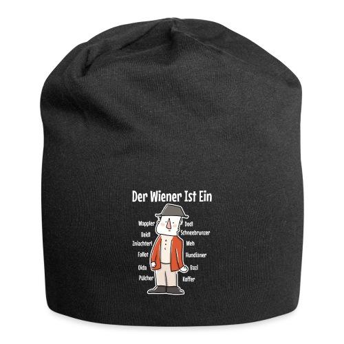 Der Wiener ist ein Geschenk für Wiener - Jersey-Beanie