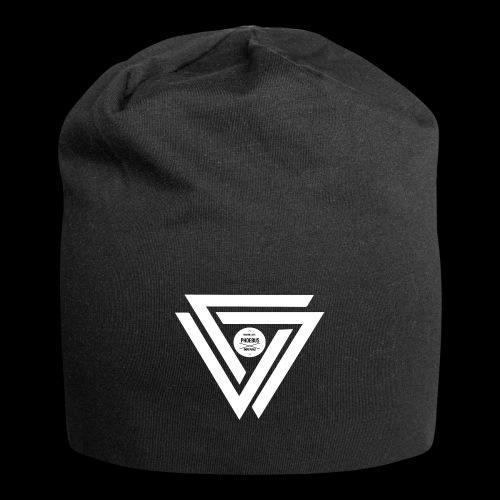 08 logo complet withe - Bonnet en jersey