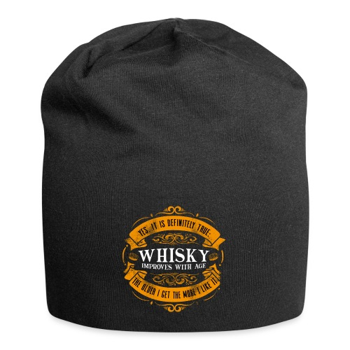 Whisky Improves with Age - Jersey-Beanie