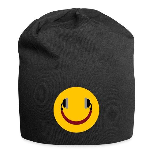 Smiling headphone - Jersey-Beanie