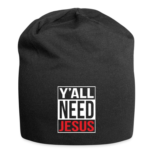 Y'all need Jesus - christian faith - Jersey-Beanie