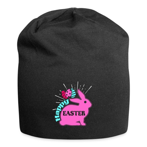Happy Easter - Frohe Ostern - Jersey-Beanie