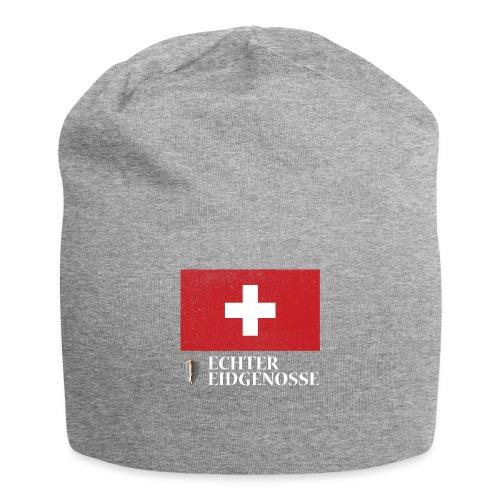 Echter Eidgenosse Schweiz - Jersey-Beanie