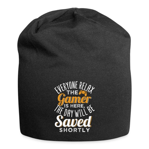 Relax The Gamer Is Here - Jersey-Beanie