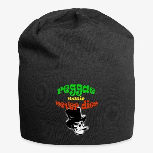 Reggae Muziek Never Dies - Jersey-Beanie