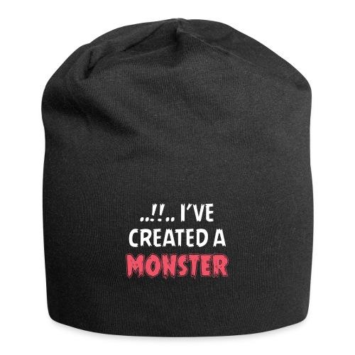 I've created a monster Partnerlook - Jersey-Beanie
