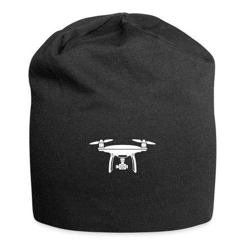 Drone Symbol Dronenpilot fliegen Technik - Jersey-Beanie