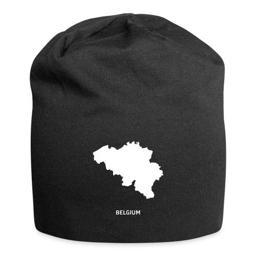 Europa Symbol Land Belgien Silhouette Staat - Jersey-Beanie