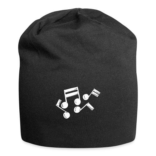 Musik Symbol Note Noten musiknoten spielen - Jersey-Beanie