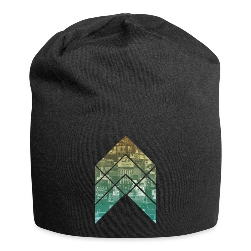 rooftop arrow - Jersey-Beanie