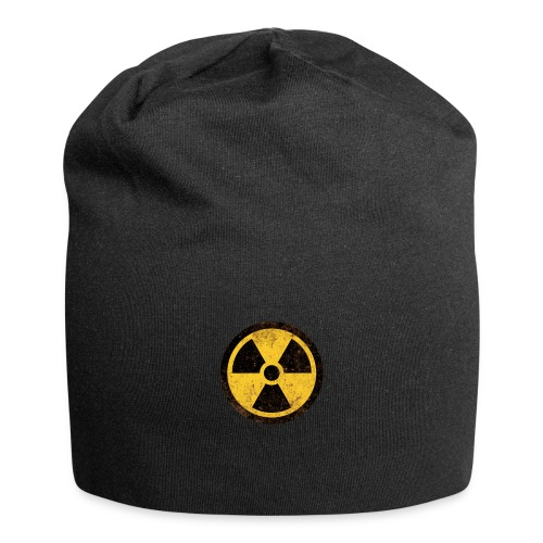 Vintage Warning Nuclear Radioactive Sign - Jersey-Beanie