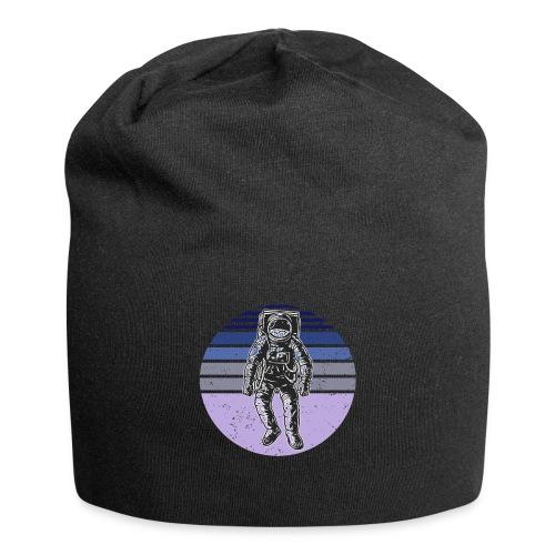 Astronaut Vintage Retro Weltraum Geschenkidee - Jersey-Beanie