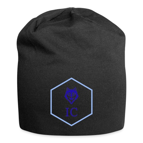 logo small - Beanie in jersey