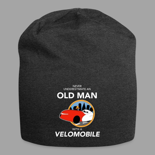 Never underestimate an old man with a velomobile - Jersey-pipo