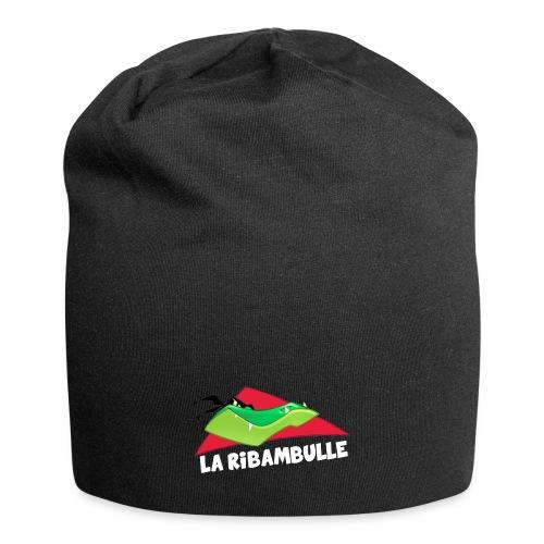 laRibambulle logoHD blanc png - Bonnet en jersey