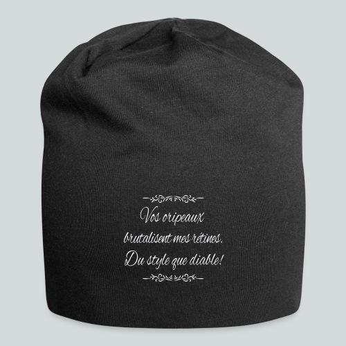 Du Style que diable! - Bonnet en jersey