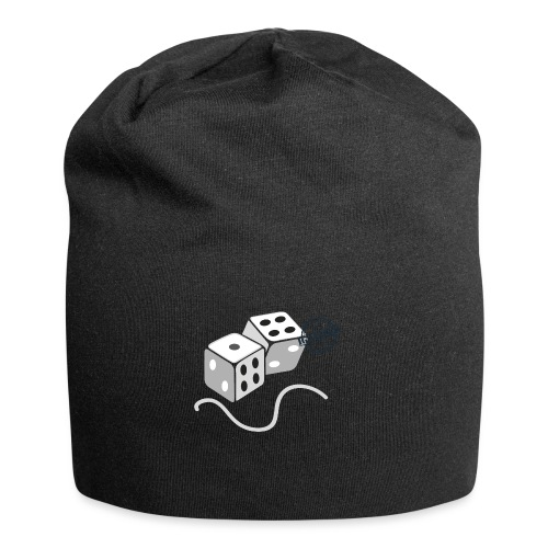 Dice - Symbols of Happiness - Jersey Beanie