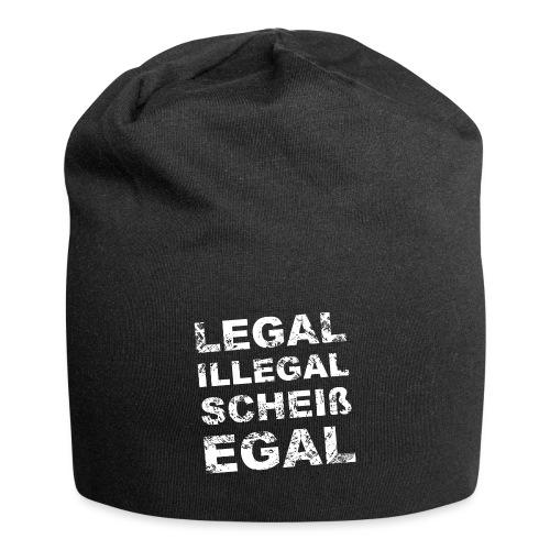 Legal Illegal Scheißegal - Jersey-Beanie