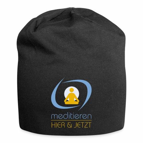 MeditierenHierJetzt.ch - Jersey-Beanie
