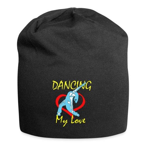 Dancing my Love HBlau - Jersey-Beanie