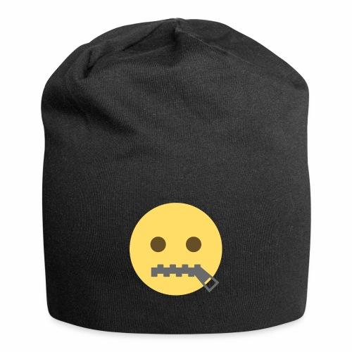 emoji bocca chiusa - Beanie in jersey