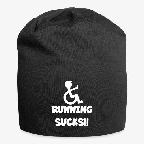 Rolstoel gebruikers haten rennen - Jersey-Beanie