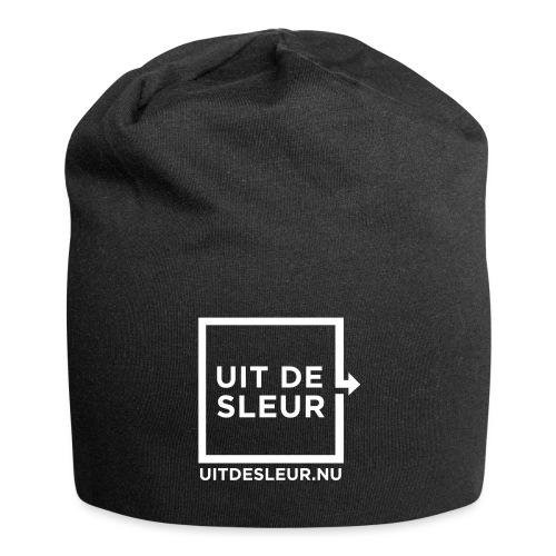 uit_de_sleur_logo - Jersey-Beanie