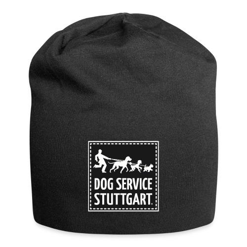 Dog Service Stuttgart schwarz - Jersey-Beanie