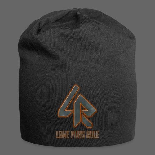 Lame Puns Rule: Logo - Jersey Beanie