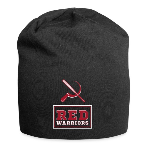 Red Warriors Logo2 - Bonnet en jersey