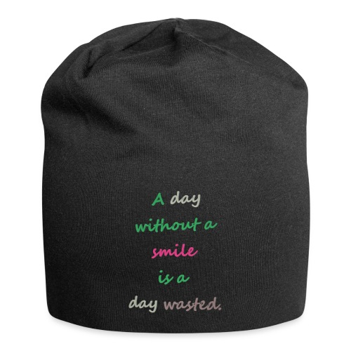 Say in English with effect - Jersey Beanie