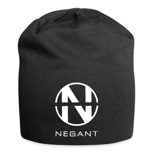 White Negant logo - Jersey-Beanie