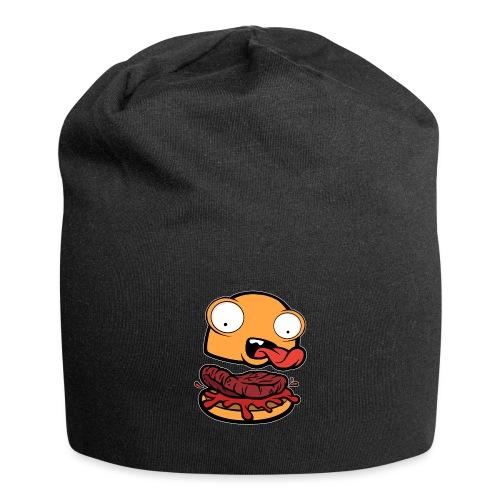 Crazy Burger - Gorro holgado de tela de jersey