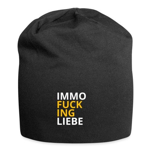 Immo f**cking Liebe! 💛 - Jersey-Beanie
