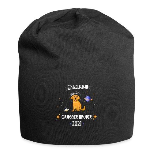 Großer Bruder 2021 Astronauten Hund Planeten - Jersey-Beanie