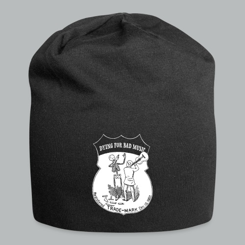 Dying For Bad Music White - Jersey Beanie