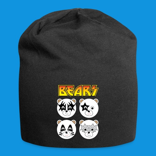 Kiss Bears square.png - Jersey Beanie